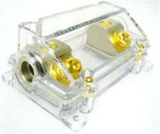 4GA ANL FUSE HOLDER (4GAUGE) PLATINUM & GOLD Fuseholder (ANL1010GP)