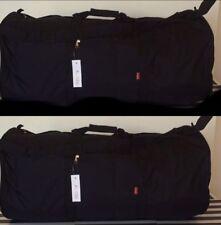 "LOT OF 2-Charlie Sport 42""Black Large Tube Duffle Bag Travel Roll Bag Cargo Lugg"