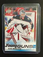 2019-20 Upper Deck Young Guns Elvis Merzlikins #466
