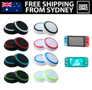 Nintendo Switch & Lite Thumb Grips/Caps for Joy-Con Controller Protective Rubber