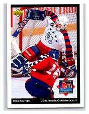 (HCW) 1992-93 McDonald's Upper Deck #25 Mike Richter NY Rangers Mint NHL