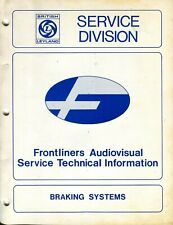1977 BRITISH LEYLAND SERVICE DIVISION TECHNICAL INFORMATION BRAKING SYSTEMS