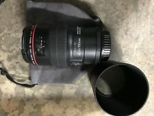 Lightly Used Canon EF 100mm f/2.8L IS USM Macro Auto Focus Lens