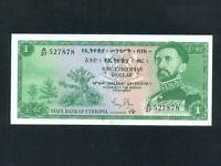 Ethiopia:P-18a,1 Dollar * Haile Selassie * 1961 * UNC *