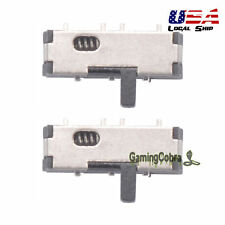 2PCS Replacement Kit Power On/OFF Switch Button For Nintendo DS Lite NDSL IDSL