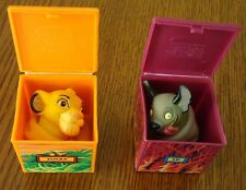 2 Lion King Finger Puppets from Burger King Kids Meal