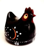 Timer - Black Chicken - 60 minute mechanical timer - fun & functional!