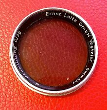 RARE! Leica filtro polarizzatore per 5cm Summicron in scatola originale Leica-Boutique-Dresda