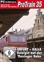 PRO TRAIN 35 * ERFURT HALLE OSTALGIE THÜRINGER BAHN NEU