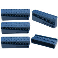 5Pcs Dental Instrument Root Canal Endo Block Files Measurement Measuring Ruler