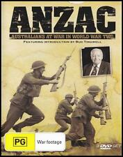 ANZAC (3 DVD) AUSTRALIANS AT WAR IN WORLD WAR TWO ~ Over 10 HOURS ~ WWII *NEW*