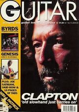 Eric Clapton magazine UK Guitar Magazine rock Satriani Byrds Genesis Techniques