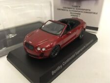 Kyosho 1/64 Bentley continental supersports convertible Red Track number free