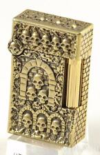 ST DUPONT TOURNAIRE CATACOMBES LIGHTER LIMITED EDITION 6/66 (OR 666) NEW, SKULL