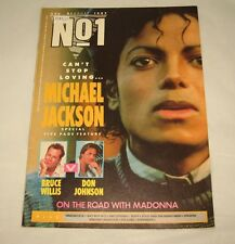 MICHAEL JACKSON - N0.1 - RARE AUSSIE MAGAZINE 1987