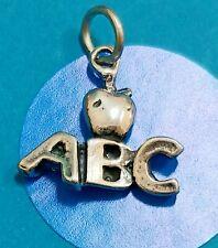 Charm Z120 Abc Sterling Silver Vintage Bracelet