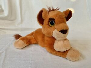"Disney Mattel LION KING 2 Baby KOVU plush 12"" Purring 1998 WORKS! Simba's Pride"