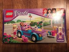 LEGO FRIENDS Stephanie's Cool Convertible 3183 BOXED instructions
