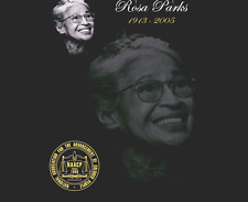 Rosa Parks Obituary Funeral Program Celebration Of Life Montgomery, Alabama