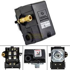 Heavy Duty 25 Amp Air Compressor Pressure Switch Control Valve 145-175 PSI