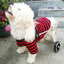 L Dog Wheelchair Adjustable 2-Wheel Pet Wheelchair For Handicapped Dog/Cat/Puppy