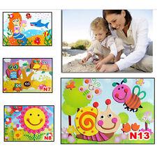 3D DIY EVA Crafts Foam Puzzle Stickers for Toy Art Gift Kids Pattern Random HGUK