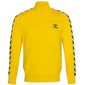 hummel Nathan Full Zip Herren Sport Fitness Jacke 200627-5167 Gr. S gelb neu