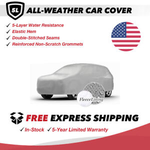 All-Weather Car Cover for 2016 Fiat 500X Sport Utility 4-Door