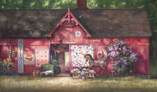 """Antique Barn"" Paul Landry Limited Edition Fine Art 34"" Giclee Canvas"