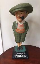 Antique Golf Ball Advertising He played a Penfold Man golf figure 3rd Version