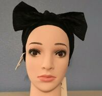 A New Day - Women's Black and Gold Headband With A Bow NWT
