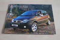 126440) Renault Megane Scenic RX4 Prospekt 09/1999