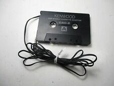 Kenwood Car Audio Cassette Tape Adapter For Mp3 Walkman Phone Oem Genuine Cac-2