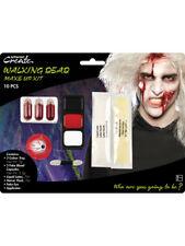 Zombie Walking Dead MAKE-UP FX SANGUE Halloween Viso Pittura Costume