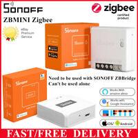 SONOFF ZB ZigBee3.0 DIY Smart Wireless Switch Module 2Way App Remote Control DE