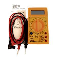 DIGITAL MULTITESTER & LEADS. AC & DC 0 - 500V, OHMS, DC mA, DIODE. MULTIMETER