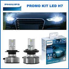 KIT 2 LAMPADINE LED H7 PHILIPS PER AUTO CAMION E MOTO 12V 24V VOLT BIANCO 6500K