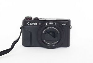 Canon PowerShot G7X Mark II 20.1 MP Compact Digital Camera Lens cover damaged