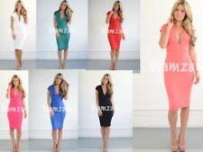 V-Neck Party Backless Dresses for Women