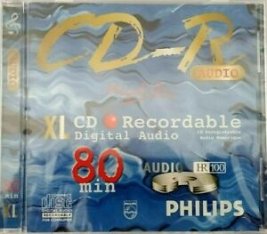 Philips CD-R80 / CD-R XL CD R Recordable Compact Disc 80min / 700mb NEW & SEALED