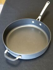 Simply Calphalon 5005 5qt Nonstick Sauté/Frying Pan Silicone Grip Pristine