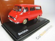 SKODA 1203 MIKROBUS 1968 1/43 ABREX (RED)