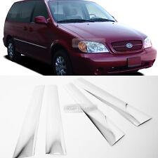 Chrome PVC Window Side B Pillar Molding Cover for KIA 1999-2005 Sedona Carnival