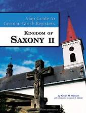 Saxony II Map Guide to German Parish Registers