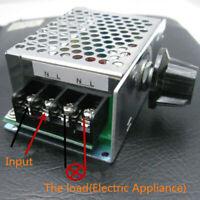 110V-220V Voltage Régulateur Réglage Moteur de Vitesse Variateur Thermostat Tool