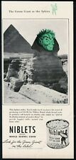 1946 Jolly Green Giant Sphinx photo Green Giant corn vintage print ad
