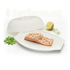 Kitchen Craft Microwave Fish Steamer - Plastic Microwave Container for Fish