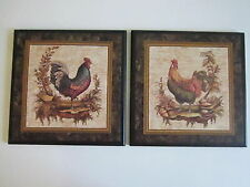 Rooster wall decor plaques chicken signs Country Kitchen Pictures chickens sign