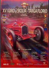 Orig.Giro di Sicilia 2004 Targa Florio Poster Alfa Romeo Mille Miglia Ferreyra