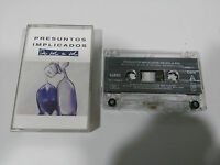 PRESUNTOS IMPLICADOS DE SOL A SOL CINTA TAPE CASSETTE GERMAN EDITION WEA 1990
